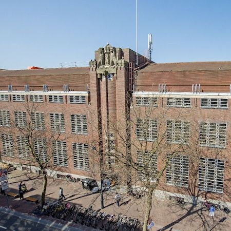 Haarlem's brick office building